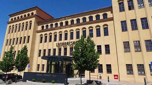 Hauptgebäude Landratsamt Mittelsachsen in Freiberg
