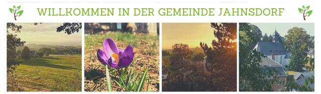 Willkommen in Jahnsdorf - 4 Orte im Grünen