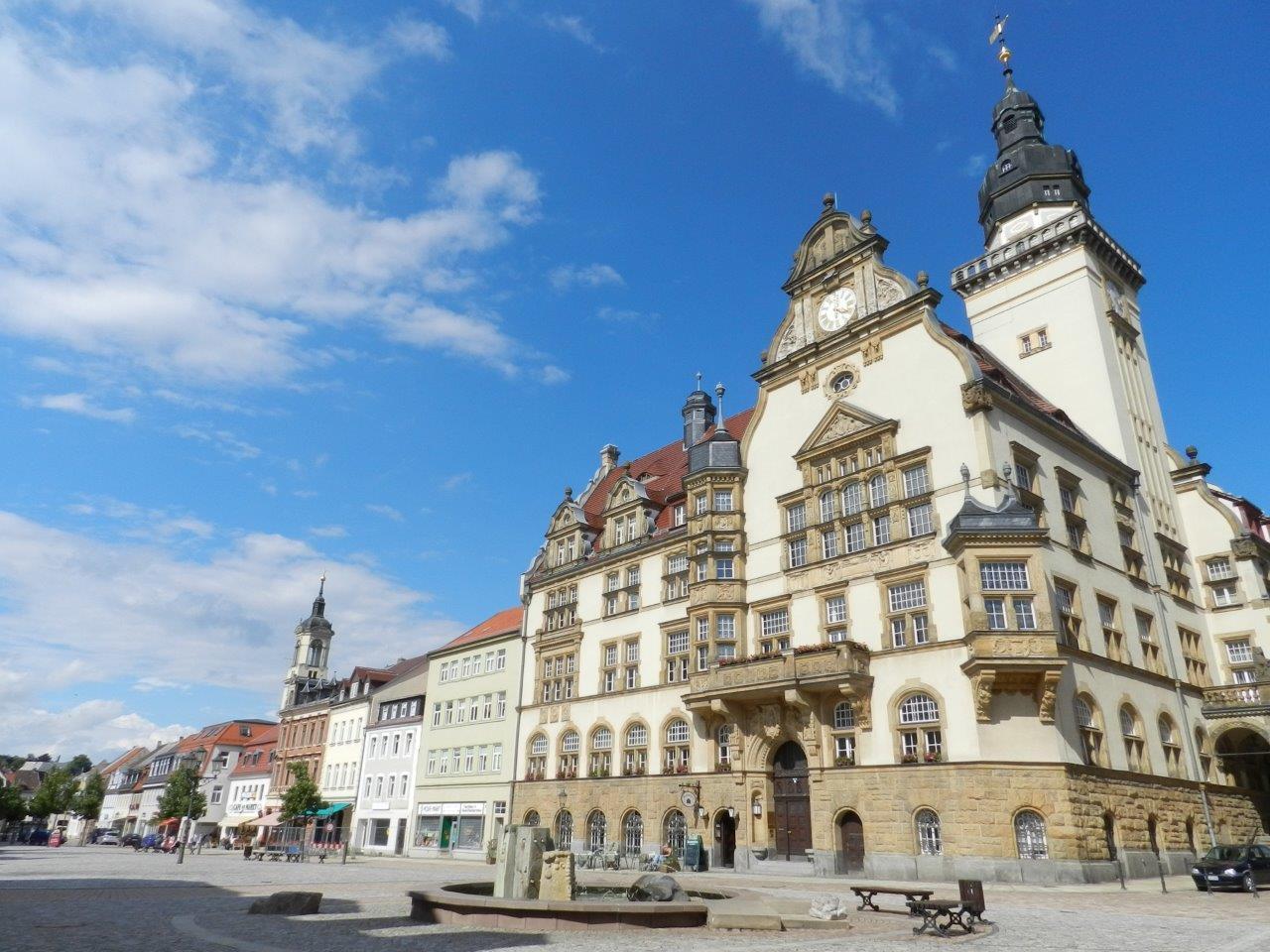 Rathaus der Stadt Werdau